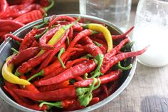 Long Thin Cayenne and Hot Yellow Peppers | Homestead Honey