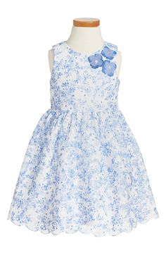 70028f0ebe2 Free shipping and returns on Pippa  amp  Julie Sleeveless Floral Dress (Toddler  Girls)