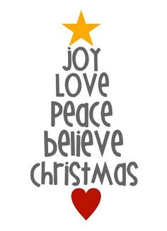 Cute holiday printable- green font though - Click image to find more Holidays & Events Pinterest pins