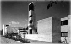 germanpostwarmodern:  Steigkirche (1965-66) in Bad Cannstatt, Germany, by Hammeley  Nanz