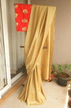 Simple Sarees, Trendy Sarees, Fancy Sarees, Jute Silk Saree, Soft Silk Sarees, Ethnic Sarees, Indian Sarees, Indian Attire, Indian Ethnic Wear