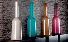 4 layer glass vases from Villeroy  Boch