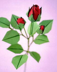 474 origami roses pinterest roses et fleurs en origami de naomiki sato dvd paper origami flowerseasy mightylinksfo