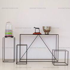 鐵藝花架 置物架 燈架 書架 擺設架 電話幾 手工打造創意家具-淘寶網