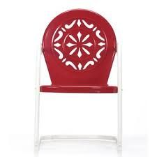 Red Chairs, Patio Chairs, Garden Chairs, Garden Yard Ideas, Backyard  Projects, Wood Projects, Cottage Porch, Garden Oasis, Outdoor Decor