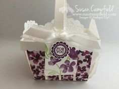 Creative Inking Blog Hop: Sweet Floral Basket for May Day or Mother's Day!