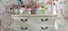 Sylvia Silver Drawers - wish i could buy something from this site