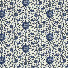 CORIANDER - RALPH LAUREN BLUE/WHITE - Menswear Style - More Fabric Collections - Fabric - Calico Corners