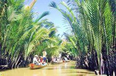 Entdeckungs-Abenteuer-Tour in kleiner Gruppe zum Mekong Delta von Ho Chi Minh Stadt aus.