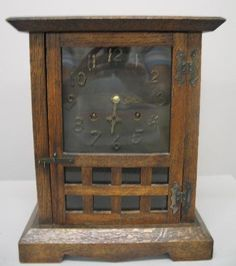 Antique New Haven Arts and Crafts Clock