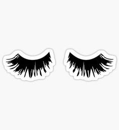 Cute Eyelashes Stickers