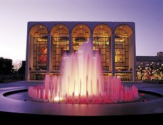 Enjoy operas, concerts, and plays in the breathtaking Lincoln Center.