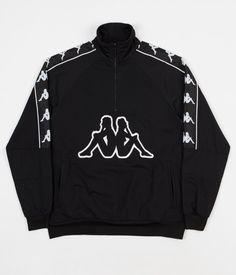 f162fd87f643 Kappa Kontroll Banda Half Zip Jacket - Black