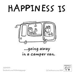 5529a36809 via TW by Devon Camper Hire  HireCamperDevon What Makes You Happy