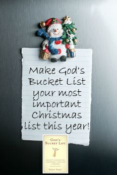God's Bucket List by Selberg Selberg Tomeo Catholic Readings, Catholic Books, Clever Sayings, The Crown, November, Bucket, Inspirational Quotes, Faith, Spaces