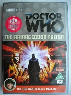 """The Armageddon Factor"" is the sixth adventure of the sixteenth season, known by the global title ""The Key to Time"", which aired in 1979 featuring the Fourth Doctor and Romana. It follows ""The Power of Kroll"" and it's a six parts adventure written by Bob Baker and Dave Martin and directed by Michael Hayes. Image from the British edition of the DVD. Click to read a review of this adventure!"