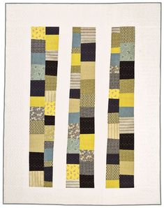 Stacking the Odds Quilt Pattern Twin by denise schmidt
