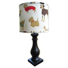 Tail Wagger Lamp from PoshTots  #PoshTotsNursery