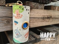 Dog Poop bags dispenser /waste bag holder Happy poodle Teddy by QTPET on Etsy Happy Paw, Fusible Interfacing, New Puppy, Poodle, Your Dog, Dogs, Handmade, Retail, Cabin