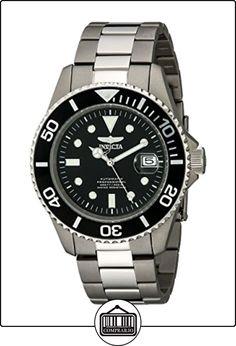 Invicta 0420 - Reloj para hombre color plata de  ✿ Relojes para hombre - (Gama media/alta) ✿