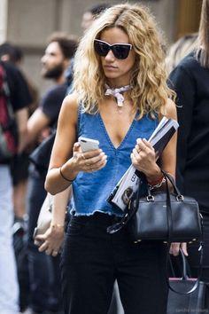 Le Fashion: Street Style: A Casual Chic Summer Outfit Chic Summer Outfits, Style Outfits, Looks Street Style, Looks Style, Casual Chic Sommer, Mode Jeans, I Love Fashion, Net Fashion, Fall Fashion