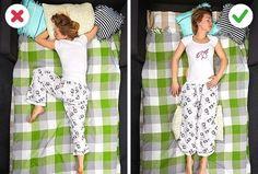 Ein drittel unseres Lebens verbringen wir mit schlafen. Sowohl die Qualität unserer Nachtruhe, als auch unsere allgemeine Gesundheit hängt direkt mit unserer Schlafhaltung zusammen und damit, was wir vor dem Schlafengehen machen. Hier sind einigeEmpfehlungen von Top-Spezialisten, die beschreiben, wie man richtig schläft, um alle gesundheitlichen Probleme zu beheben: Schulterschmerzen Wenn du mit einer schmerzenden