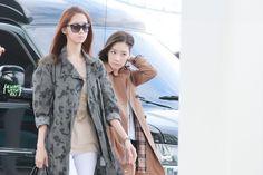#Snsd #GG #Soshi #Yoona #Taeyeon #fantaken #fashion #airport #Sone