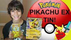#VIDEO: Pokemon Pikachu EX Battle Heart Tin Opening! Jenna Em Channel  WATCH: https://youtu.be/exaMtKnN_Eo  #Pokemon20