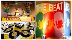 The Beatles Birthday Party Ideas (Festa dos Beatles)
