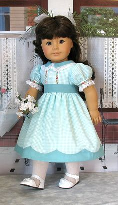 aqua 1 by Sugarloaf Doll Clothes, via Flickr