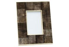 4x6 Avery horn/glass Picture Frame on OneKingsLane.com