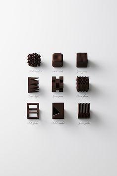 Chocolatetexture – Kleine Schokoladen-Skulpturen