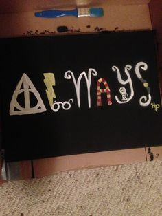 harry potter canvas paintings | First Harry Potter canvas I made for @Jill Meyers Meyers Krygowski