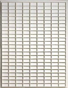 'nul' artist,Jan Schoonhoven. manipulation of light and shadow by means of the repetition of texture.