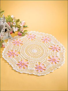 Ravelry: Pink Daisies pattern by Mickie Akins