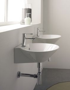 Cono Wall Mounted Basins From Aston Matthews Http://www.astonmatthews.co