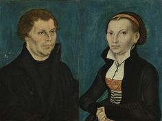 File:Lucas Cranach the Elder – Bildnis Martin Luthers Bildnis Katharina Luthers (1526) Google Art Project.jpg