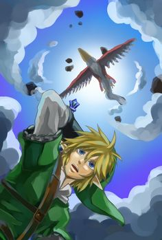 I seriously love this game to death.  (TLOZ Skyward Sword)