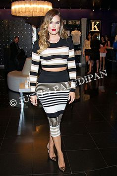 Khloe Kardashian makes an appearance at Kardashian Khaos inside The Mirage Hotel and Casino on January 25, 2014 in Las Vegas, Nevada.