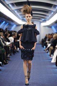 Chanel Spring 2012 Couture Fashion Show - Anna Selezneva (SILENT)