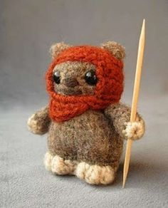 Star Wars Amigurumi - Lucy Ravenscar Knitted Pop Culture Crafts are Ewok-Approved (GALLERY)