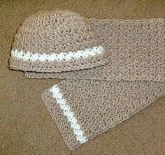 Crochet Hat and Scarf Patterns for FPF (Free Pattern Friday)