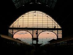 "Budapest - ""Keleti pályaudvar"" (East main railway station)"