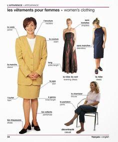 34 - Les vêtements pour femmes