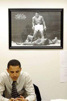 Muhammad Ali tributes led by Barack Obama: 'The Greatest. Black Presidents, Greatest Presidents, American Presidents, American History, Barack Obama, First Black President, Our President, Muhammad Ali Quotes, Barack And Michelle