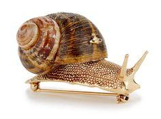 beatpie: Vivienne Westwood snail brooch