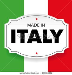 Made in Italy label vector and flag Italy Logo, Best Scooter, Italian Quotes, Flag Vector, Emblem, Cycling Jerseys, Mens Caps, Countries Of The World, Hang Tags