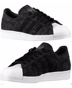 Adidas Originals SUPERSTAR 80S BLACK SUEDE MENs CASUAL M WHITE NEW  AUTHENTIC BLACK Special Offer Discount 881534c1f