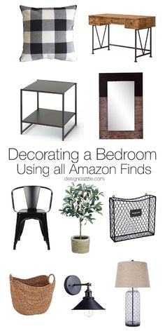 Just about everything in this room can be found on Amazon. If you're looking to re-do your decor and furniture on a budget, this post is for you!