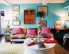 Bohemian Living Room Furniture In This Living Room Is Different And Interesting Furniture Beautiful